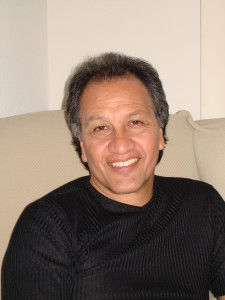 Bobby Cruz at home