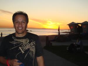 Bobby Cruz @San Clemente beach