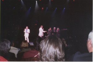 Bobby Cruz w/Righteous Bros at Las Vegas Hilton